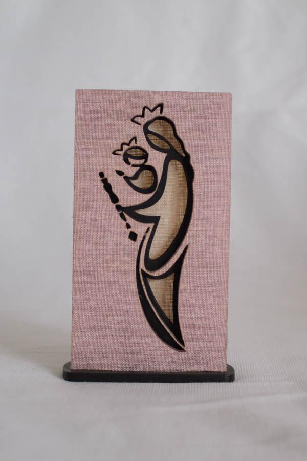 Bekoffee Estátua Virgem Maria Rosa