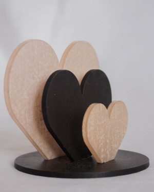 Bekoffee Os Três Corações (Rosa)
