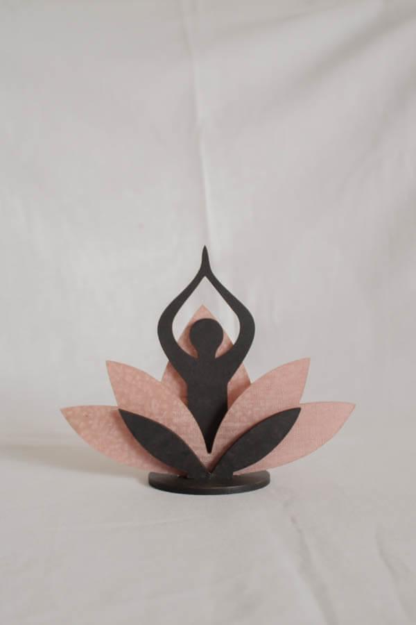 Bekoffee Flor de Lotus com Buda (Rosa)