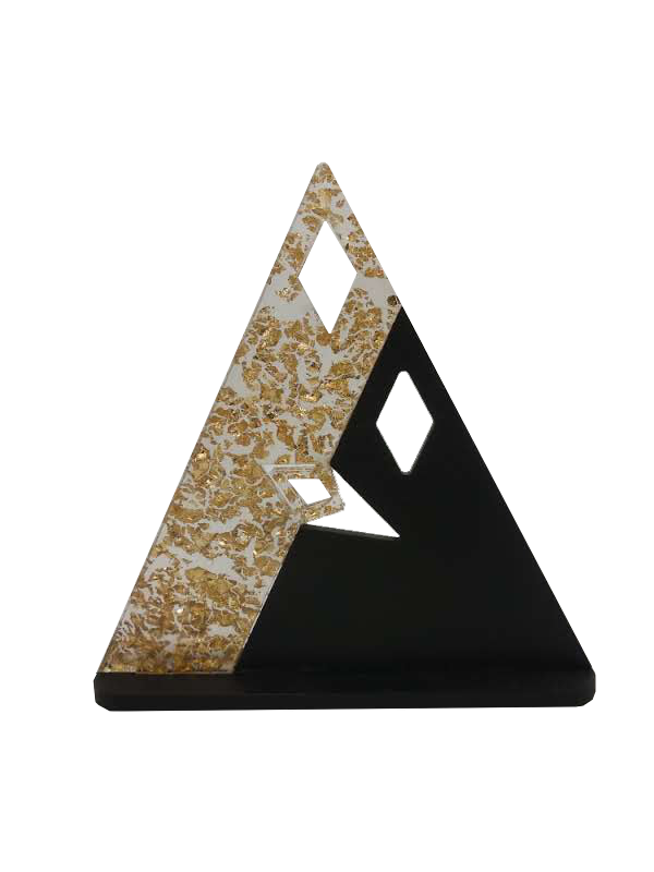 Bekoffee Presépio Triangular Ouro