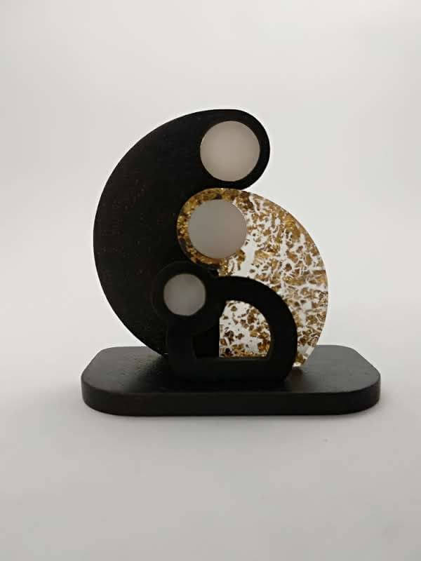 Bekoffee Presépio Circular ouro